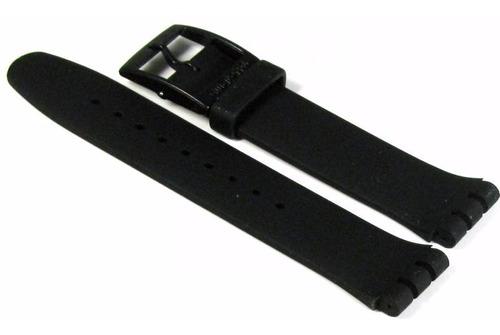 correa malla reloj swatch black rebel suob702 | asuob702