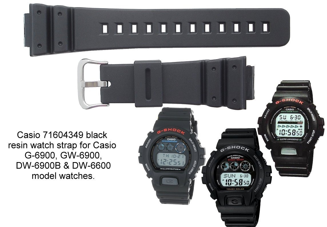 Correa Para Casio G shock Dw 6900 Dw 6600 Calidad Triple A