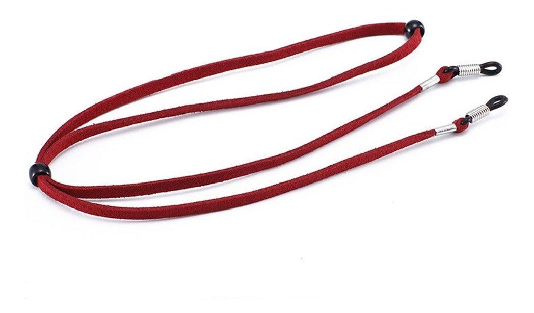 hombres Paquete de 10 cordones de longitud ajustable correa de cuello de alivio de presi/ón para ni/ños mujeres correa de cuello antip/érdida con gancho para gafas
