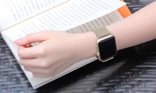 correa para reloj watch magnetica  acero inoxidable