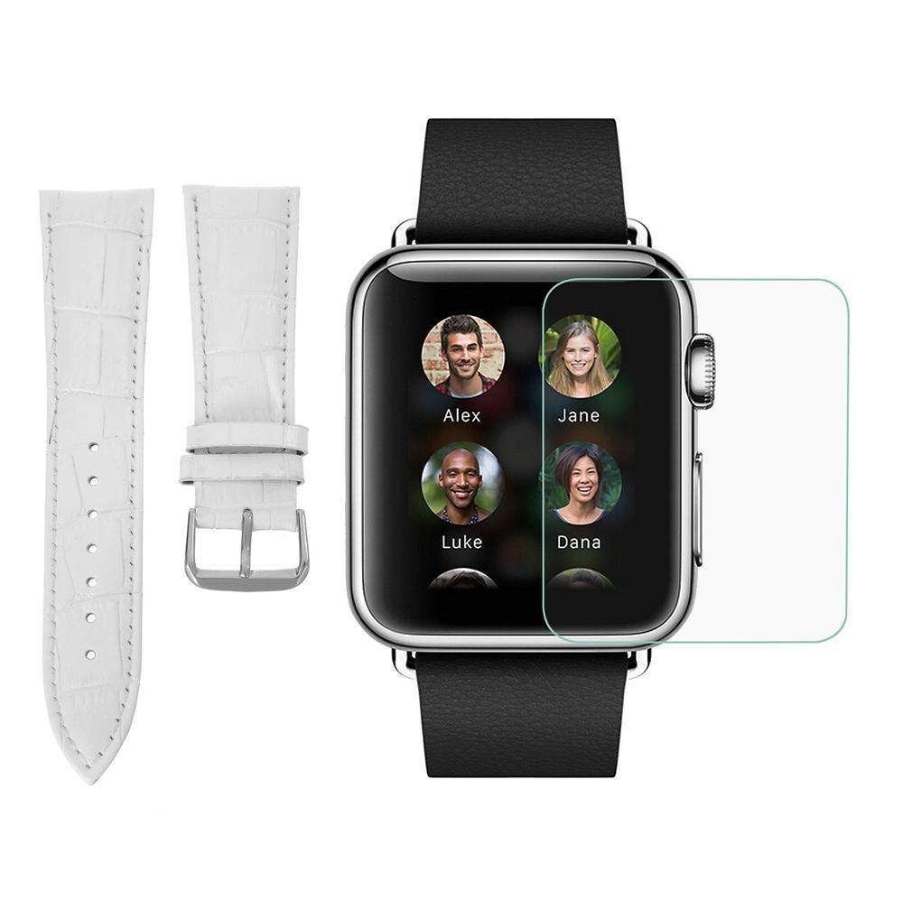 ba5e7480f4879 correa para reloj y protector de pantalla para apple watch d. Cargando zoom.
