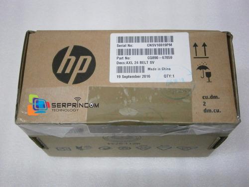 correa plotter hp t120 t520 24  original nueva cq890-67059