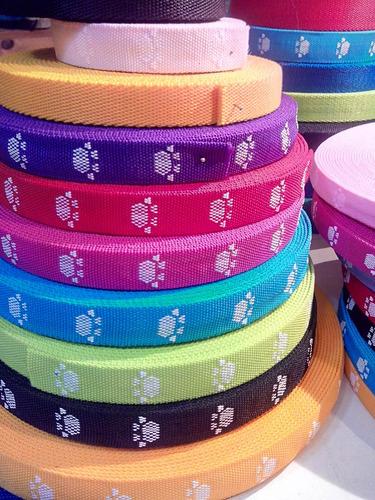 correa por mayor para fabricacion de collares de mascotas
