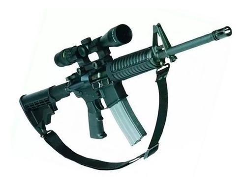 correa porta fusil sling tactico de 2 puntos rifle carabina
