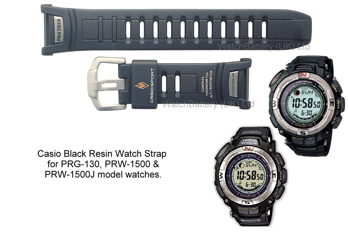 bbc57d4cbfb6 correa reloj casio protrek prg-130 prw-1500 triple sensor. Cargando zoom.