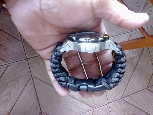 correa reloj caterpillar con base de aluminio