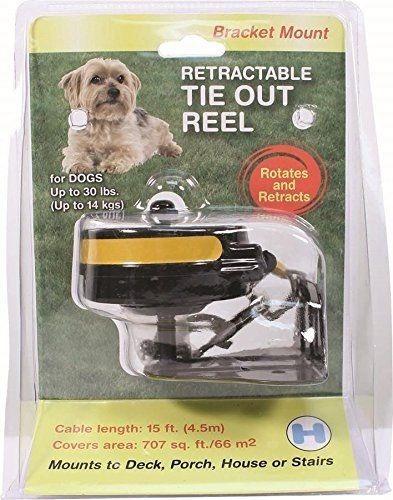 correa retráctil pared - perros - hasta 14kg - s