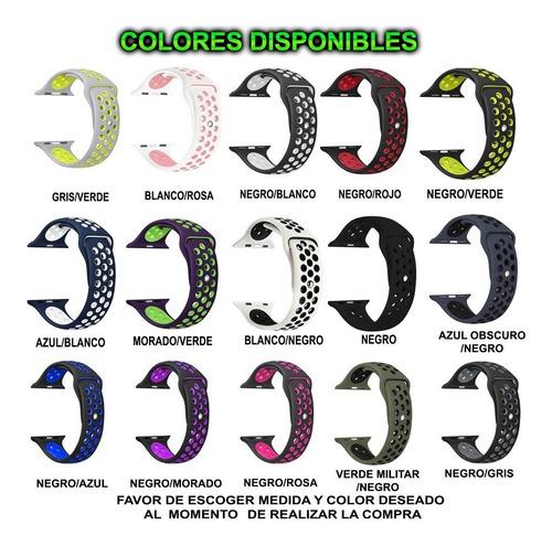 correa sport watch iwatch serie 1 2 3 4 38mm 40mm 42mm 44mm