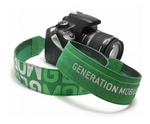 correa strap golla para todo tipo cámaras blanco rosa verde