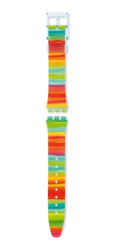 correa swatch plástico multicolor