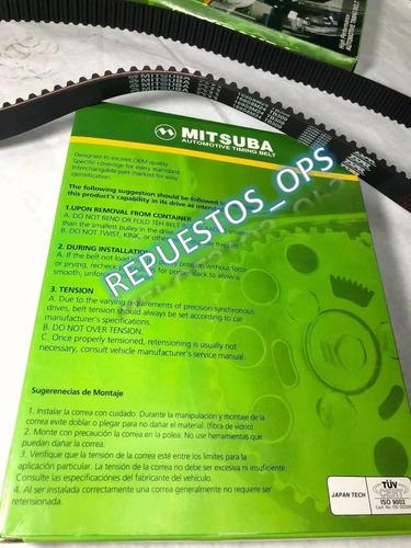 correa tiempo optra limited tacuma nubira 2.0 ( 169 dientes)