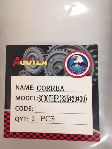 correa traccion 835 20 30 scooter marca aguila