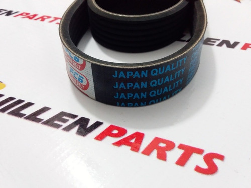 correa unica fiesta titanium  6pk1030 japones