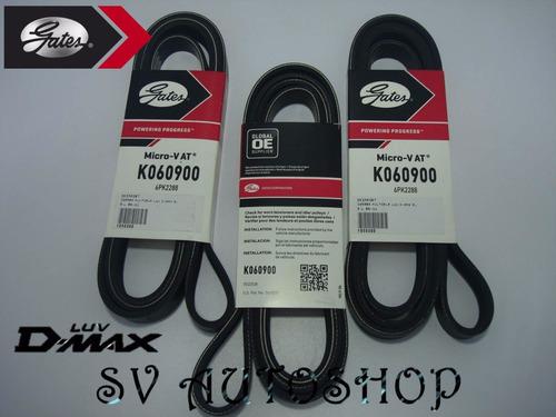 correa unica servicio chevrolet luv dmax 3.5 6pk2288 k060900