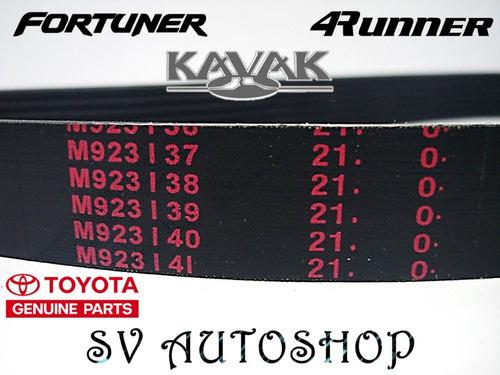 correa unica servicio toyota 4runner fortuner fj hilux kavak