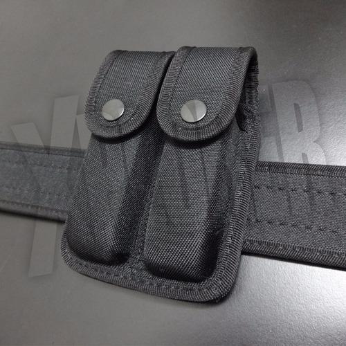correaje policial cinturon porta esposas cargador pistolera