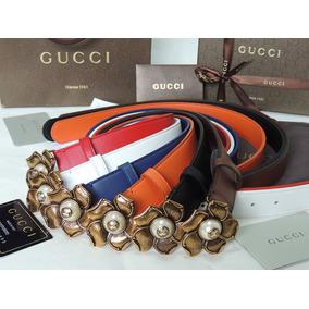 442572162f528 Correa Negra Gucci Mujer En Cuero en Mercado Libre Colombia