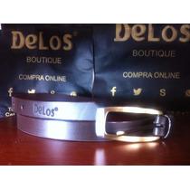 Cinturones 100% Cuero Marca Delos®