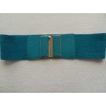 Cinturón - Correa Mujer Verde Aguamarina