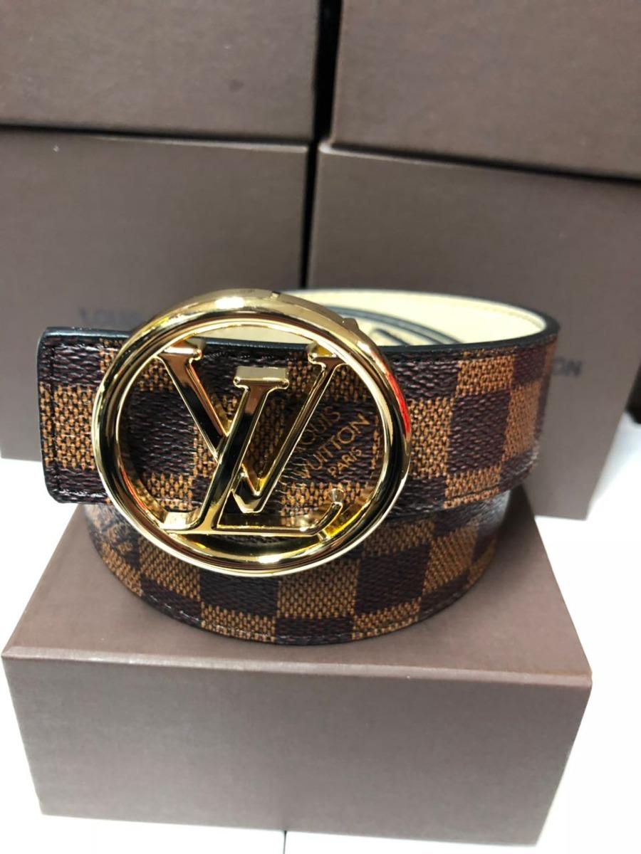 2cec63f46 Correas Cinturones Louis Vuitton Hombre Y Mujer - $ 120.000 en ...