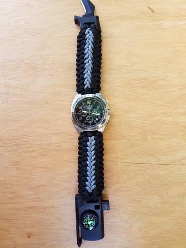 correas de reloj paracord550 (7,10 y 15 $)