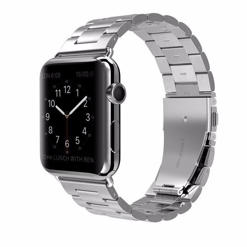 correas extensibles para apple watch metalica 38/42mm