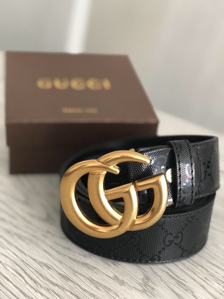 más fotos 44a09 61a61 Correas Gucci