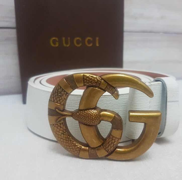 19184557f Correas Gucci De Cuero Cinturones Gucci, Lv - Bs. 15.500,00 en Mercado Libre