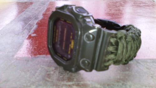 correas para reloj tejidas en paracord