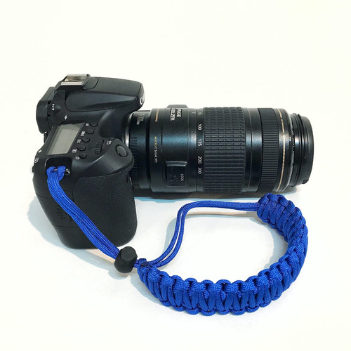correas paracord para cámaras fotográficas