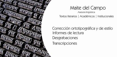 corrección y editing - textos literarios, académicos, tesis