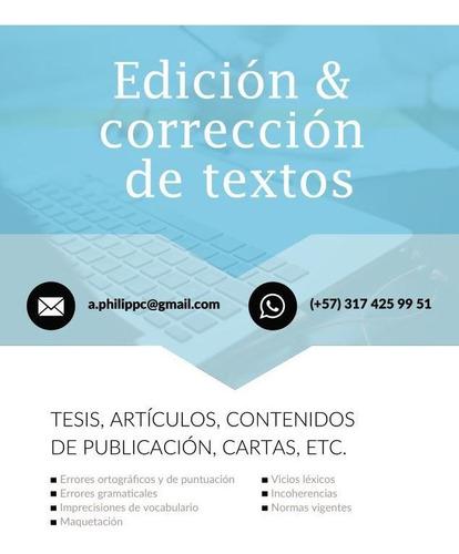 corrección y traducción de textos