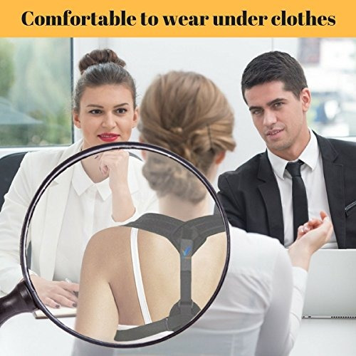 corrector de la postura de espalda para mujeres y hombres po