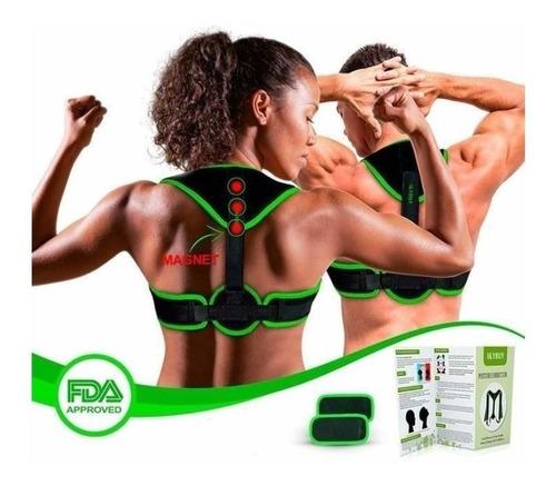 corrector de postura ajustable espalda recta hombre y mujer