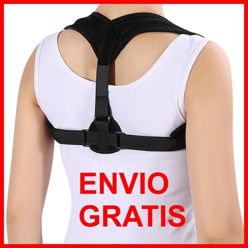corrector de postura ajustable unisex chaleco faja espalda