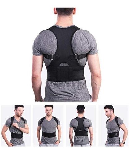 corrector de postura con imanes. soporte lumbar. es unisex