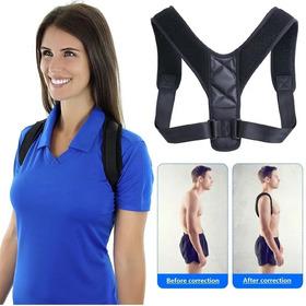 Corrector De Postura Espalda Ajustable Para Hombre Y Mujer