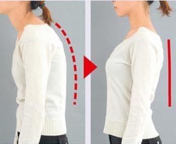 corrector de postura espalda mujer original