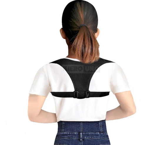 corrector de postura espaldera chiquito discreto mujer