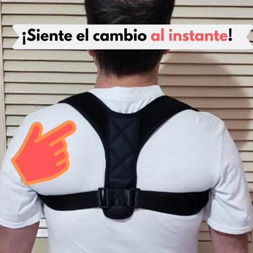 corrector de postura faja alivia dolor espalda. hombre/mujer