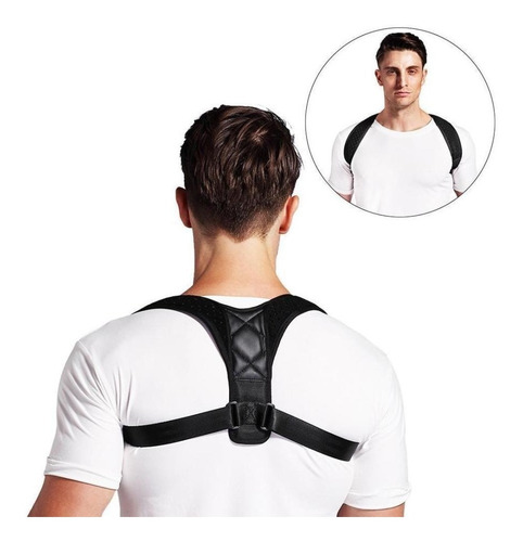 corrector de postura neopreno espalda recta calidad full