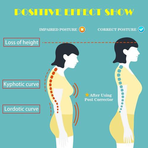 corrector de postura para el cuerpo, ajustable, unisex, corr