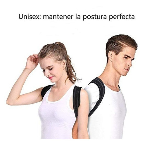 corrector de postura para mujeres y hombres - faja lumbar