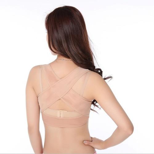 corrector de postura y apoyo para el pecho