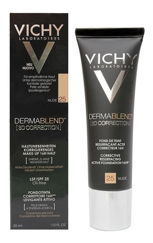 corrector dermablend vichy 3d nude 25 x 30ml