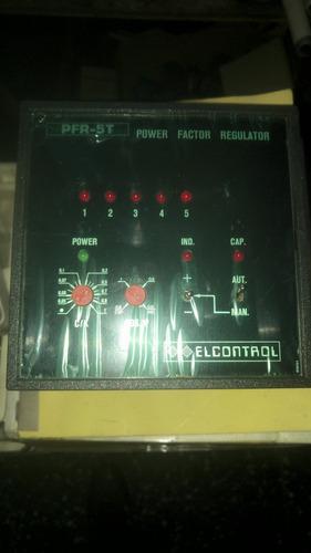 corrector factor de potencia 5 pasos nuevo elcontrol italy