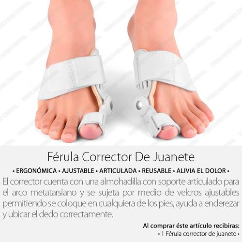 corrector férula para juanete / ortopédico + envío gratis