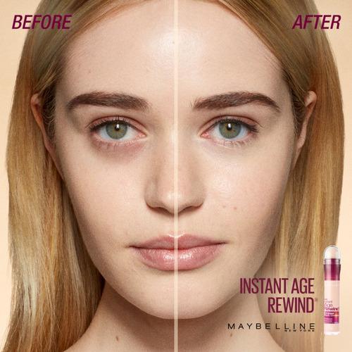 corrector instant age rewind maybelline rostro