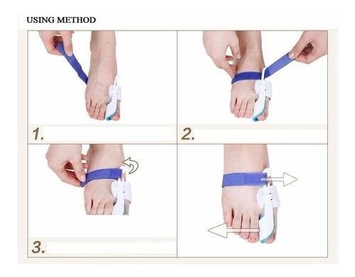 corrector juanete ferula ortopédico ajustador duo full