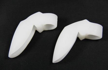 corrector juanetes par,separador dedos hallux valgus egratis